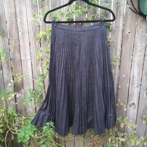 Vintage Giorgio Armani Pleated High Waist Skirt 44